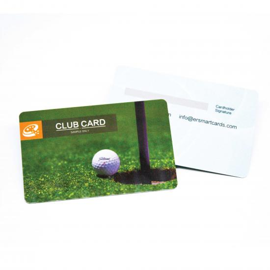 Golf Club Membership Card with Advanced process printing